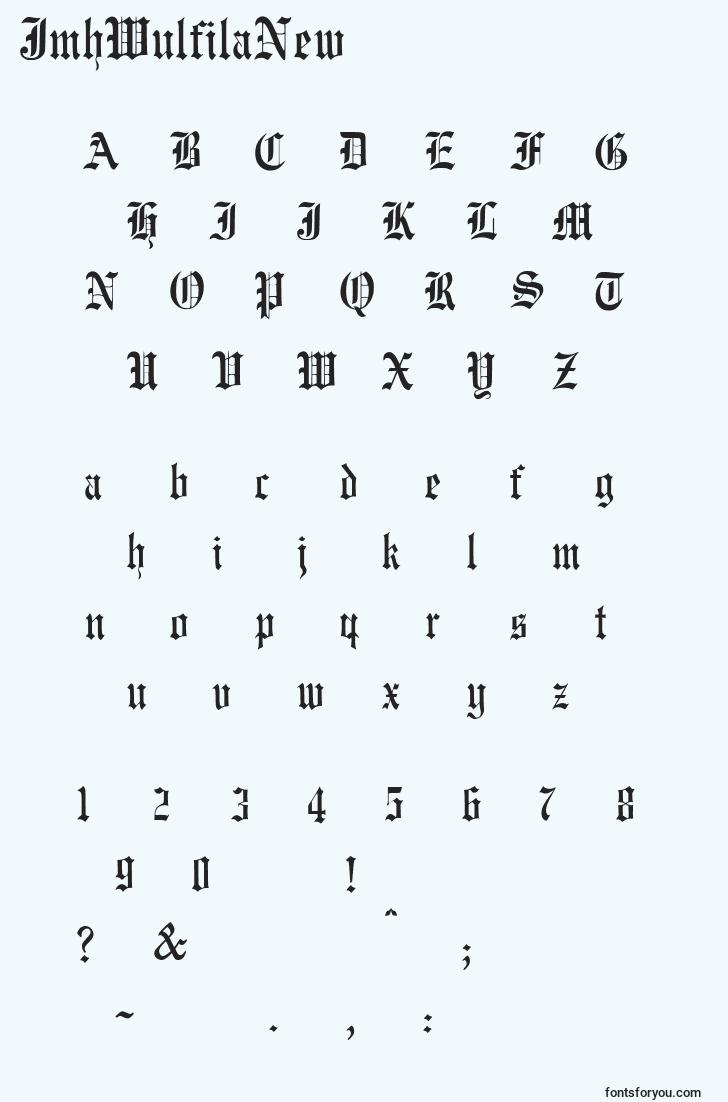 characters of jmhwulfilanew font, letter of jmhwulfilanew font, alphabet of  jmhwulfilanew font