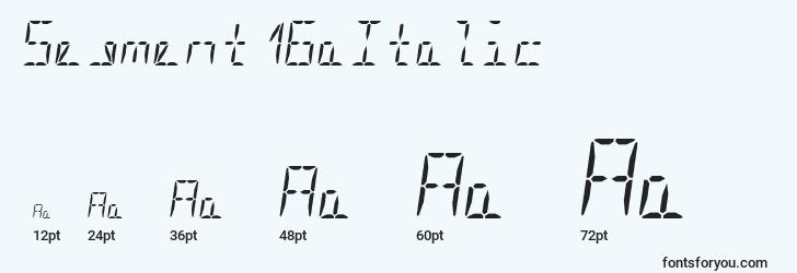 sizes of segment16aitalic font, segment16aitalic sizes