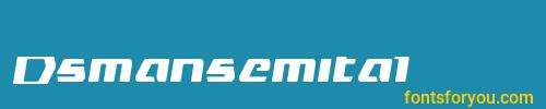 dsmansemital, dsmansemital font, download the dsmansemital font, download the dsmansemital font for free