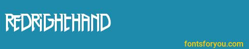 redrighthand, redrighthand font, download the redrighthand font, download the redrighthand font for free