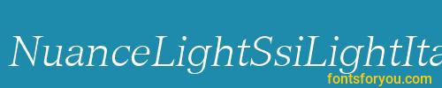 nuancelightssilightitalic, nuancelightssilightitalic font, download the nuancelightssilightitalic font, download the nuancelightssilightitalic font for free