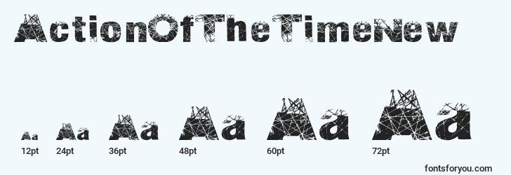 sizes of actionofthetimenew font, actionofthetimenew sizes