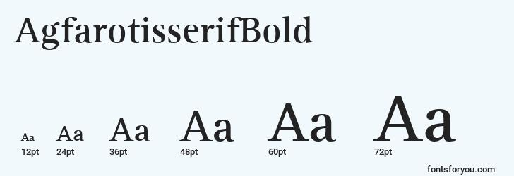 sizes of agfarotisserifbold font, agfarotisserifbold sizes