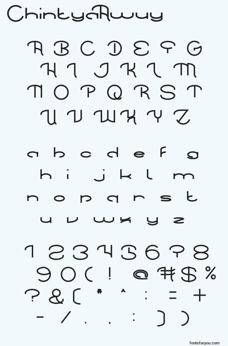characters of chintyaawuy font, letter of chintyaawuy font, alphabet of  chintyaawuy font