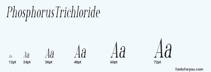 sizes of phosphorustrichloride font, phosphorustrichloride sizes