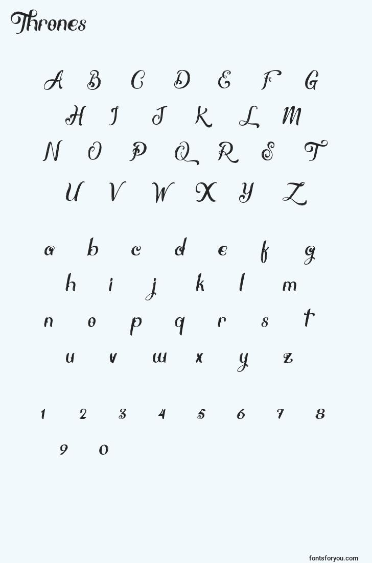 characters of thrones font, letter of thrones font, alphabet of  thrones font