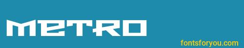 metro, metro font, download the metro font, download the metro font for free