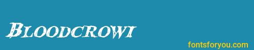 bloodcrowi, bloodcrowi font, download the bloodcrowi font, download the bloodcrowi font for free