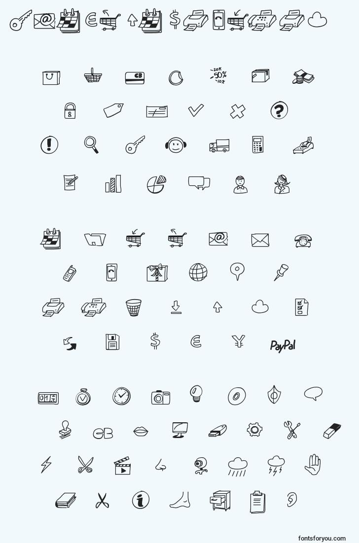 characters of peaxdrawnicons font, letter of peaxdrawnicons font, alphabet of  peaxdrawnicons font