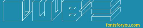 cube, cube font, download the cube font, download the cube font for free