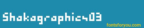 shakagraphics03, shakagraphics03 font, download the shakagraphics03 font, download the shakagraphics03 font for free