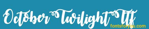 octobertwilightttf, octobertwilightttf font, download the octobertwilightttf font, download the octobertwilightttf font for free