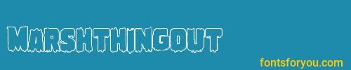 marshthingout, marshthingout font, download the marshthingout font, download the marshthingout font for free