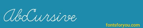 abccursive, abccursive font, download the abccursive font, download the abccursive font for free