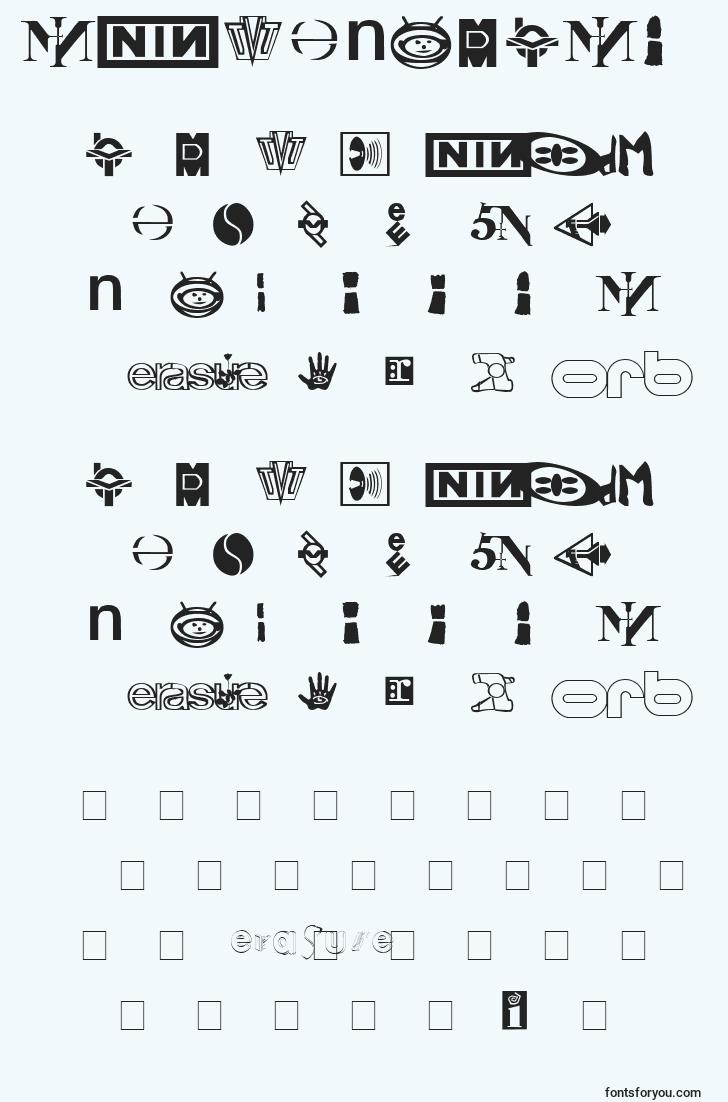 characters of technobats font, letter of technobats font, alphabet of  technobats font