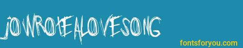 jowrotealovesong, jowrotealovesong font, download the jowrotealovesong font, download the jowrotealovesong font for free