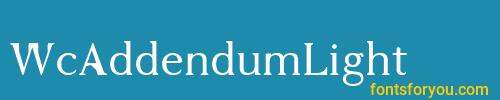 wcaddendumlight, wcaddendumlight font, download the wcaddendumlight font, download the wcaddendumlight font for free