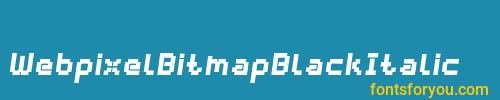 webpixelbitmapblackitalic, webpixelbitmapblackitalic font, download the webpixelbitmapblackitalic font, download the webpixelbitmapblackitalic font for free