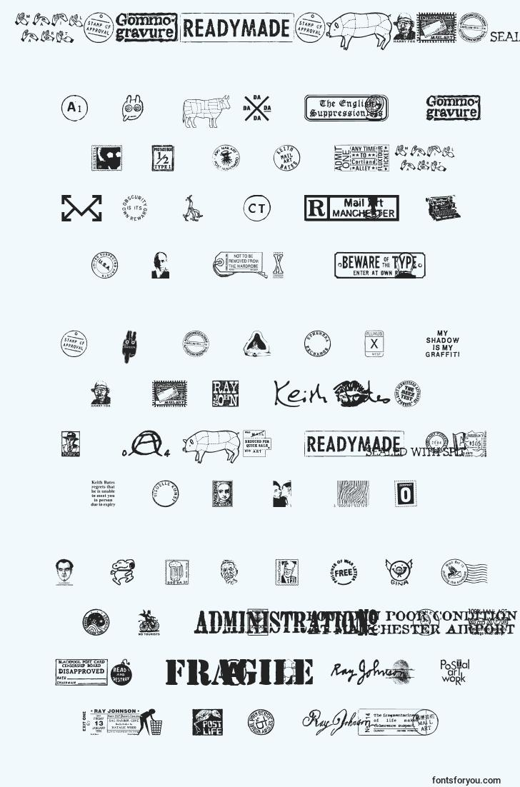 characters of magraphics font, letter of magraphics font, alphabet of  magraphics font