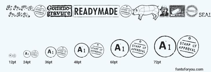 sizes of magraphics font, magraphics sizes