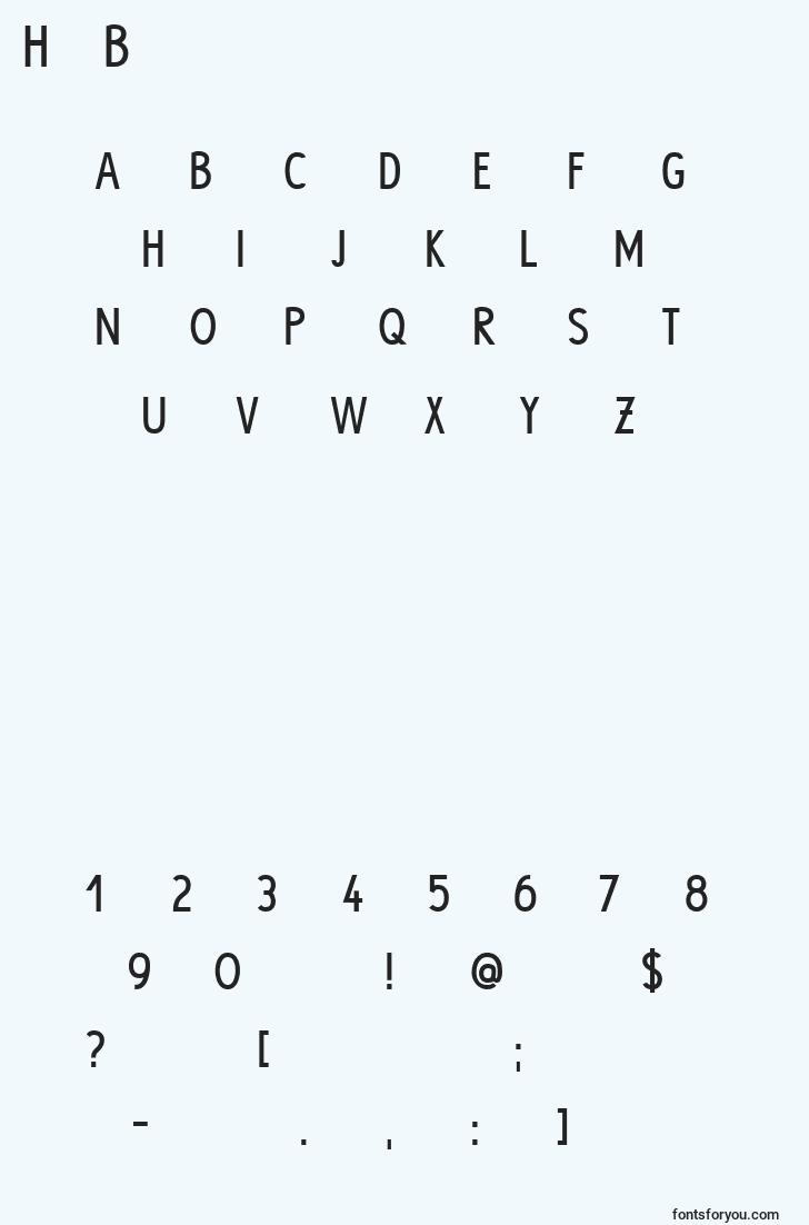 characters of hypebold font, letter of hypebold font, alphabet of  hypebold font