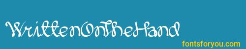 writtenonthehand, writtenonthehand font, download the writtenonthehand font, download the writtenonthehand font for free