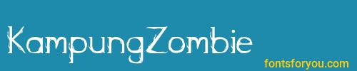 kampungzombie, kampungzombie font, download the kampungzombie font, download the kampungzombie font for free