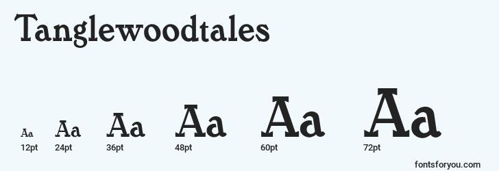 sizes of tanglewoodtales font, tanglewoodtales sizes