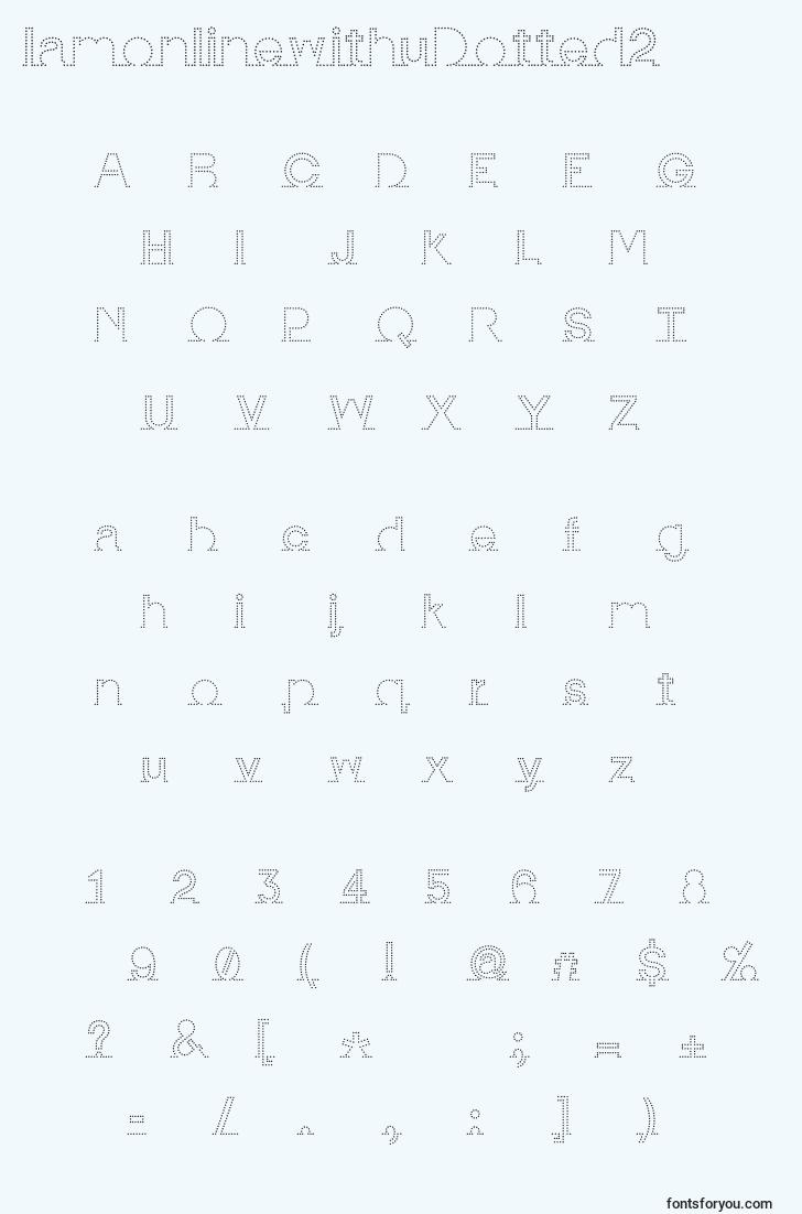 characters of iamonlinewithudotted2 font, letter of iamonlinewithudotted2 font, alphabet of  iamonlinewithudotted2 font