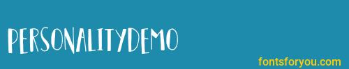 personalitydemo, personalitydemo font, download the personalitydemo font, download the personalitydemo font for free