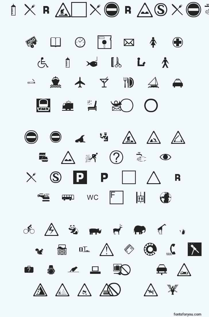characters of international font, letter of international font, alphabet of  international font