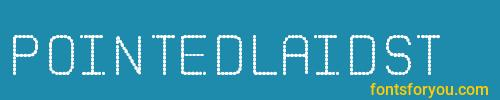 pointedlaidst, pointedlaidst font, download the pointedlaidst font, download the pointedlaidst font for free