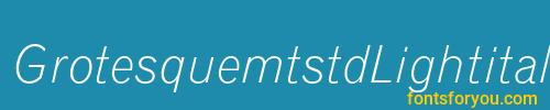 grotesquemtstdlightitalic, grotesquemtstdlightitalic font, download the grotesquemtstdlightitalic font, download the grotesquemtstdlightitalic font for free