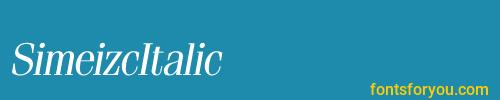 simeizcitalic, simeizcitalic font, download the simeizcitalic font, download the simeizcitalic font for free