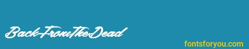 backfromthedead, backfromthedead font, download the backfromthedead font, download the backfromthedead font for free