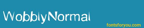 wobblynormal, wobblynormal font, download the wobblynormal font, download the wobblynormal font for free