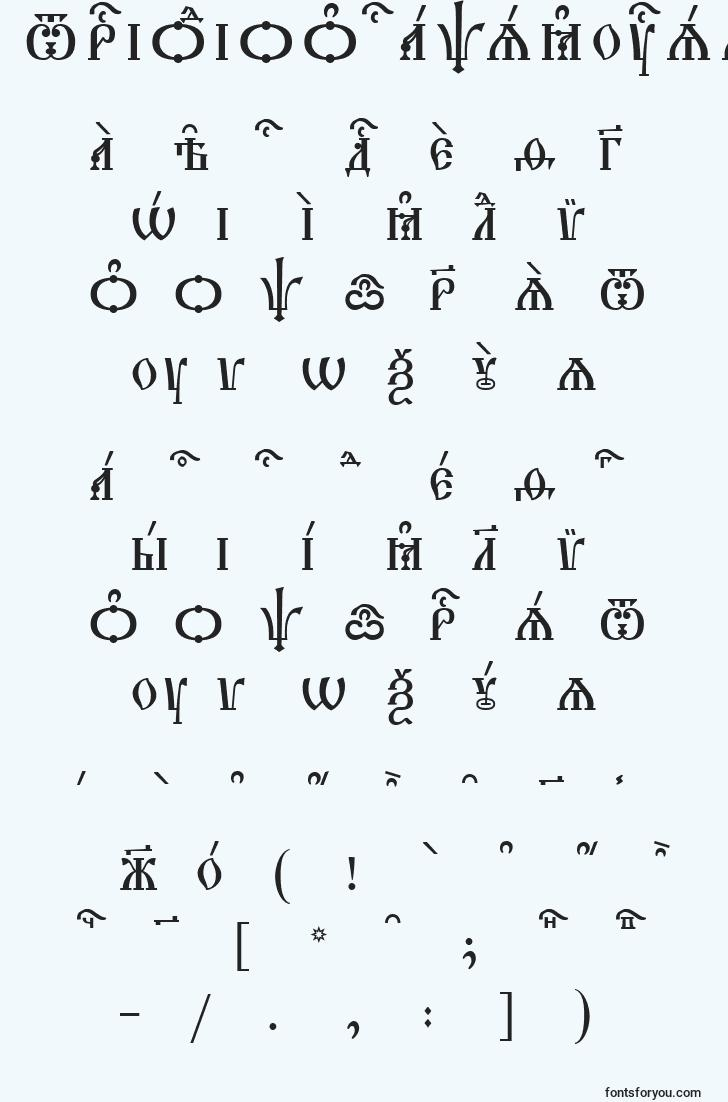 characters of triodioncapskucsspacedout font, letter of triodioncapskucsspacedout font, alphabet of  triodioncapskucsspacedout font