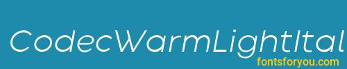 codecwarmlightitalictrial, codecwarmlightitalictrial font, download the codecwarmlightitalictrial font, download the codecwarmlightitalictrial font for free