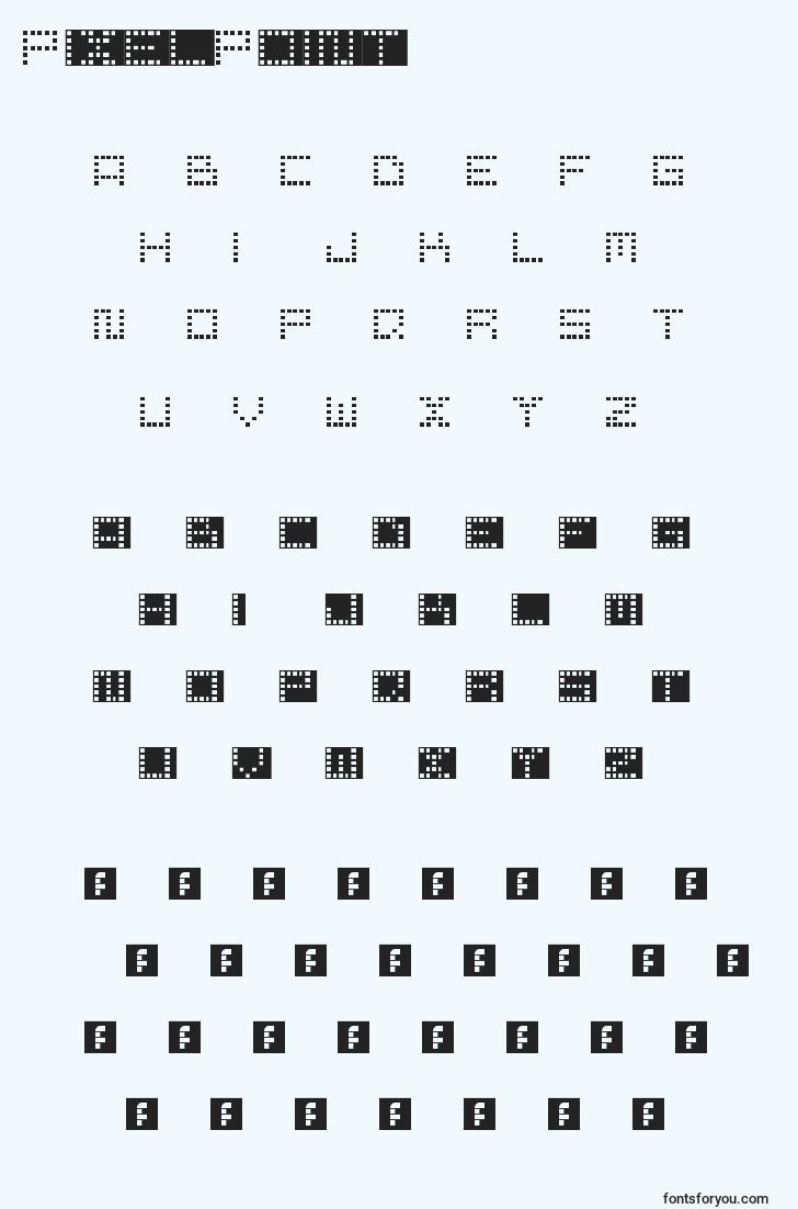 characters of pixelpoint font, letter of pixelpoint font, alphabet of  pixelpoint font