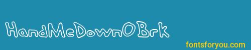 handmedownobrk, handmedownobrk font, download the handmedownobrk font, download the handmedownobrk font for free