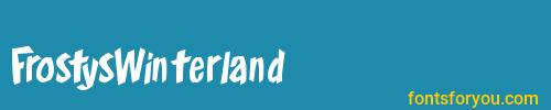 frostyswinterland, frostyswinterland font, download the frostyswinterland font, download the frostyswinterland font for free